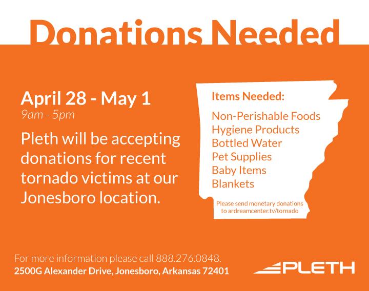 Tornado-Donations
